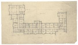 First floor plans [surrounding Founders' Quad]