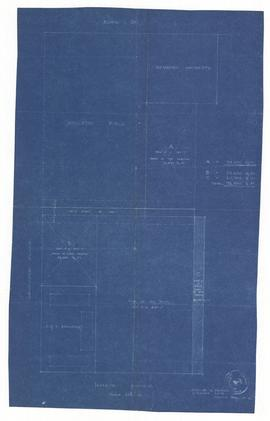 Plan of Trinity College Site, North Side Hoskin Avenue, Toronto