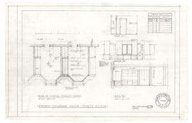 Cosgrave House: plan of typical student room. - 3 March 1962 (A-118)