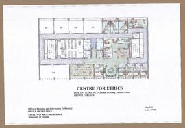 Centre for Ethics, Concept floor plan, Larkin Building (Second Floor), Trinity College