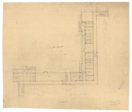 Basement plan - north quad