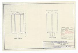 Lantern elevations. - 12 October 1961 (B-6)