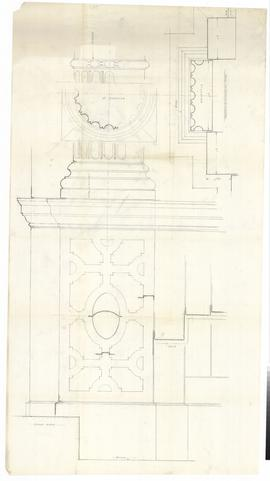 Columns and pilasters. - undated [1957] (357)