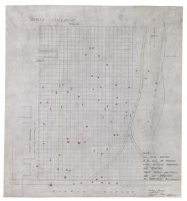 [Land Survey and Elevations], Trinity College, University Park, Toronto