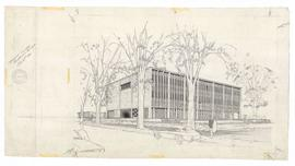 Presentation drawing. - 28 June 1960