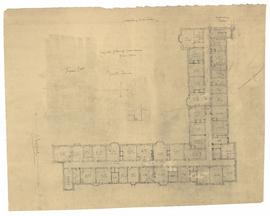 Suggested plan of residences - first floor - north quad