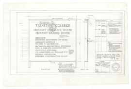 Sketch of job sign for P 904: Provost Cosgrave and Provost Seager Houses. - 14 June 1962 (A-100)