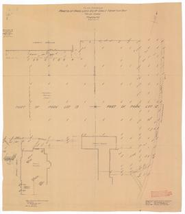 Plan showing Trinity College Property