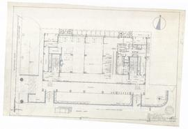 First floor plan, final prelim sketch for working drawing A-4. - 2 November 1959