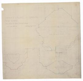 New Chapel: details of outer doorway to Chapel. - full scale. - July 1952 (149-23)