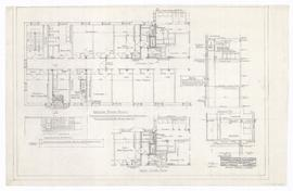 Alterations to existing south wing, second and third floors. - November 1959. - rev. 22 January 1...