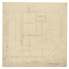Plan of University of Toronto property