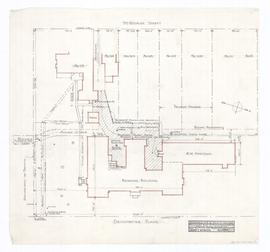 Preliminary plan of paved courts and drive; part of Block Plan #121. - 19 August 1959 (33)
