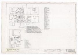 Food facilities layout plan, kitchen and servery areas (K1)
