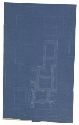 Site Plan for Trinity College, Toronto