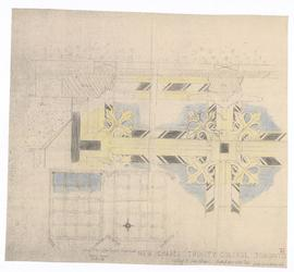 New Chapel: ceiling plan of side Chapel (149-38)