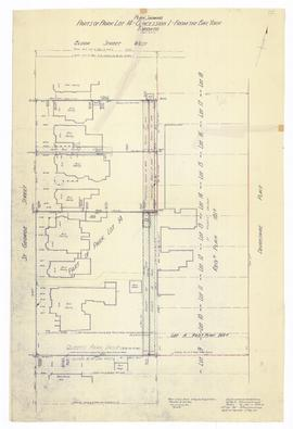 Plan Showing University of Toronto Property