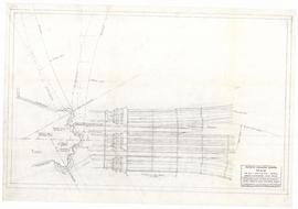 Intersection of rib between pier shafts with plaster vault. - 24 September 1954 [pencil on tissue...