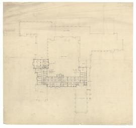 Second floor plan [surrounding Founders' Quad]