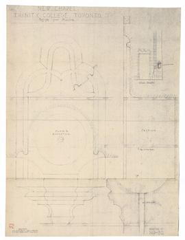 New Chapel: design for piscina (149-32)