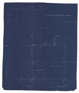 Plan Showing Part of the Property of the University of Toronto