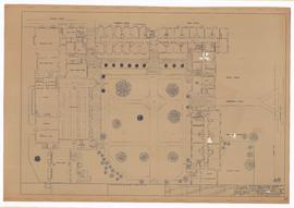 Seager, Cosgrave, Body, Welch, Henderson, Whitaker, dining hall: ground floor plan