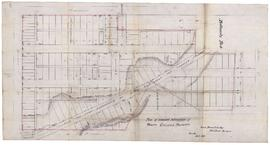 Plan of proposed subdivision of Trinity College Property, Toronto