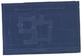 Block Plan of [Proposed] Trinity College New Buildings, Trinity College, Toronto