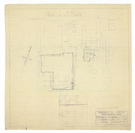 Survey Drawing of North Area, University of Toronto