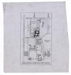Plans, Trinity College, Hoskin Avenue, Toronto