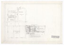 Alterations to existing south wing, ground floor. - November 1959. - rev. 22 January 1960, 12 May...