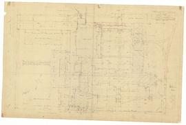 Survey Drawing of North Wing Block Plan