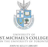Go to University of St. Michael's College, John M. Kelly Library, Special Collections
