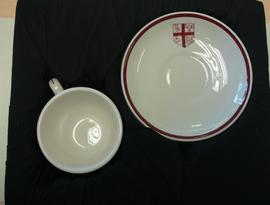 Victoria University Cup and saucer