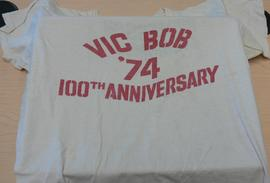 Bob t-shirt -  Vic Bob '74 100th anniversary